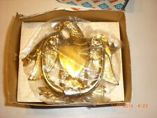 Vintage Baldwin polished Brass American Eagle Door Knocker New in box #122