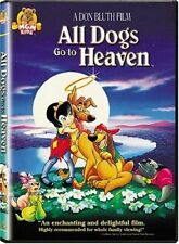 ALL DOGS GO TO HEAVEN / NEW DVD
