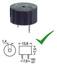 DW03 ART D=12 mm cicalino Buzzer 12V oscillatore integrato