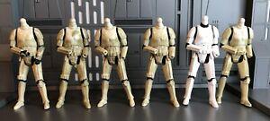 Star Wars Stormtrooper Custom Fodder Lot 3.75