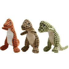 Dog Chewing Toys Dinosaur Plush Dolls Squeaky Puppy Large Dogs Totys Squeaking