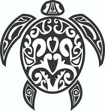 TRIBAL TURTLE CAR DECAL STICKER