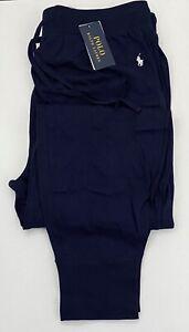 RALPH LAUREN Navy Cotton Loungewear/Sleep Pants Embroidered Logo Size 2XL BNWT