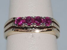10k Gold Ring with Rubies(July birthstone) and beautiful design