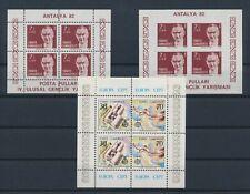 LM75706 Turkey Europa Cept Ataturk sheets MNH