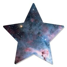Stars within Star Wall Mounted 3D Style Cardboard Cutout Decoration - Space