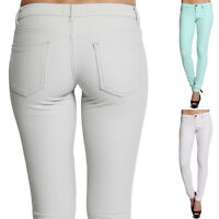 TheMogan XS-L Cotton Soft Stretch Super Comfortable Jeggings Skinny Pants Women