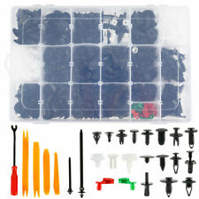 460Pcs Car Retainer Clips Kit Door Push Panel Bumper Screws Fasteners Rivets Set