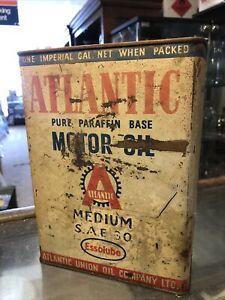 Atlantic Vintage Oil Can Gal Missing Top