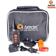 Aetertek Pet Dog Electric Shock Collar Remote Range Waterproof RechargeAble 918C