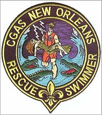 Air Station New Orleans Rescue Swimmer gold dress W5245 USCG Coast Guard patch