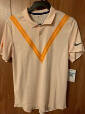Nike Men's Size M Court Rf Advantage Tennis Polo Roger Federer New 939080 838