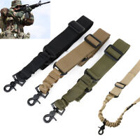 Rifle Airsoft  Nylon Tactical Strap Sling Point Shoulder Hunting Gun Belt