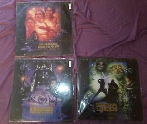 Trilogie Star Wars Edition Spéciale VF THX Laserdic PAL