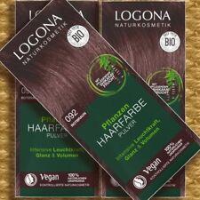 Logona Pflanzen-Haarfarbe 092 Kaffee-Braun 100g Naturkosmetik zertifiziert Vegan