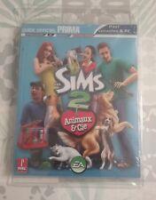 Guide officiel les sims 2 Animaux & cie sur PC et Console Neuf
