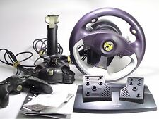 Saitek PC Gaming Pack Racing Steering Wheel Pedal DrivingSet Controller Joystick