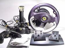 Confezione di gioco Saitek PC RACING VOLANTE PEDALE drivingset Controller Joystick