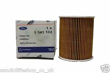 Genuine Ford Mondeo 1.8  2.0 Petrol Oil Filter (10.00 - 03.07) 1343102