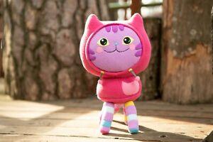 Gabby's Dollhouse DJ Catnip plush - Handmade soft toy - 11 in