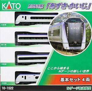 Kato 10-1522 Series E353 'Azusa/Kaiji' 4 Cars Set (N scale)
