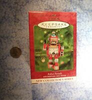 Vintage Hallmark Keepsake Ornament ** ROBOT PARADE ** 2000 *NEW IN BOX