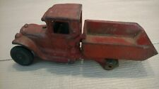 Vintage Arcade Cast Iron Dump Truck #219