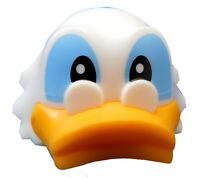 Lego Ente Kopf in weiss für Minifigur Onkel Dagobert Duck 41599pb01 Disney Neu