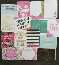 """Hello Project Life Cards - Pack of 15 - 3"""" x 4"""""""