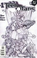 Teen Titans #1 Michael Turner Sketch Cover Variant DC Comics 2003