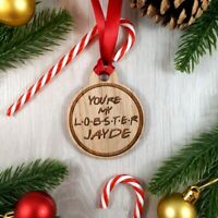 Personalised FRIENDS Bauble - You're My Lobster [NAME] Christmas Tree Decoration