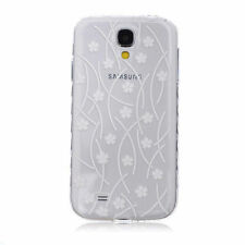 Patterned Silicone/Gel/Rubber Cases & Covers for Samsung Galaxy S4
