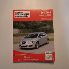 Seat Leon essence et diesel revue technique automobile RTA CIPB722.6