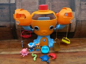 Octonauts Octopod Playset with Figures and Accessories w/ Octo Alert + Inkling