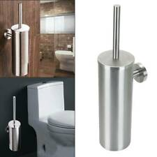 Edelstahl Bad Wandmontage Bürstenhalter WC Garnitur Klobürste Toilettenbürste