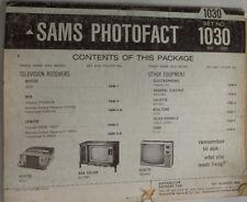 Sams Photofact Magazine Nivico & RCA & Zenith No.1030 May 1969 030315r2