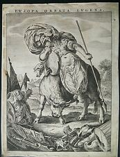 EUROPA - XVIII CENT. WOOD CUT