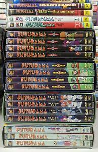 Futurama: The Complete Seasons 1 2 3 4 5 & 6 + 3 Movies - Genuine Region 4 DVD