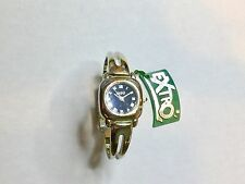 Orologio Donna Extro Originale Anni 80' Con Bracciale Rigido In Acciaio