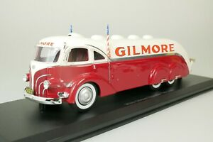 WHITE GILMORE STREAMLINE TANK TRUCK USA ROT WEISS 1935 1-333 1/43 AUTOCULT 11012