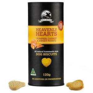 Pumpkin, carrot and sweet potato - 120g - Hear Shaped - Dog Biscuit