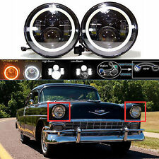 """7"""" LED Headlight DRL Hi Lo Beam Headlamp for Chevy Truck 1947-1957 and 1962-1972"""