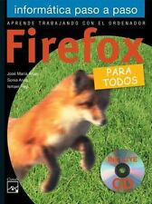 Firefox: Para todos (Informática paso a paso) (Spanish Edition)-ExLibrary