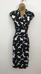Roman Size 12 Black Smart Formal Evening Occasion Dress - Womens