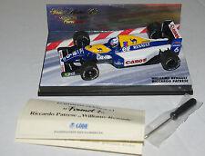 Minichamps F1 1/43 WILLIAMS RENAULT FW14 RICCARDO PATRESE GODE & SCREWDRIVER