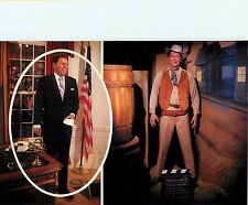 "Ronald Reagan Oval Office 4x6"" Postcard Movieland Wax Museum"