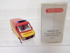 eso-3224Wiking 1:87 Feuerwehr Mercedes Sprinter sehr guter Zustand