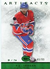 12/13 UPPER DECK ARTIFACTS EMERALD GREEN #69 PK SUBBAN 49/99 CANADIENS *33758