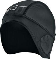 Alpinestars Black Skull Cap Helmet Liner One Size for Motorcycle Offroad