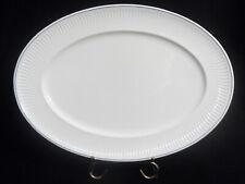 """Villeroy & Boch Filet Bleu Large Oval Serving Platter 16-3/4"""""""